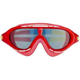 speedo Biofuse Rift Okulary pływackie Dzieci czerwony/niebieski